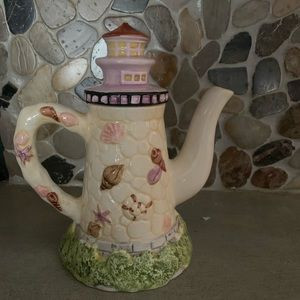 Ceramic Lighthouse Teapot